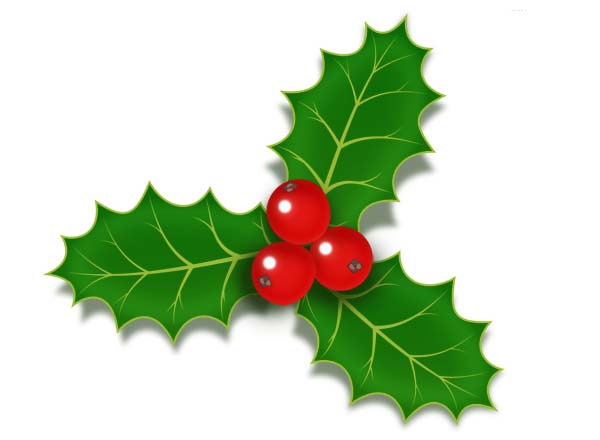 christmas-holly-berries-icon