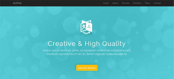 alpha-free-html-template