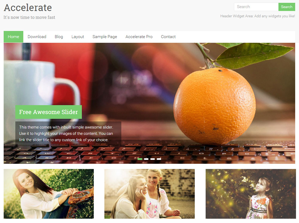 accelerate-free-wp-theme