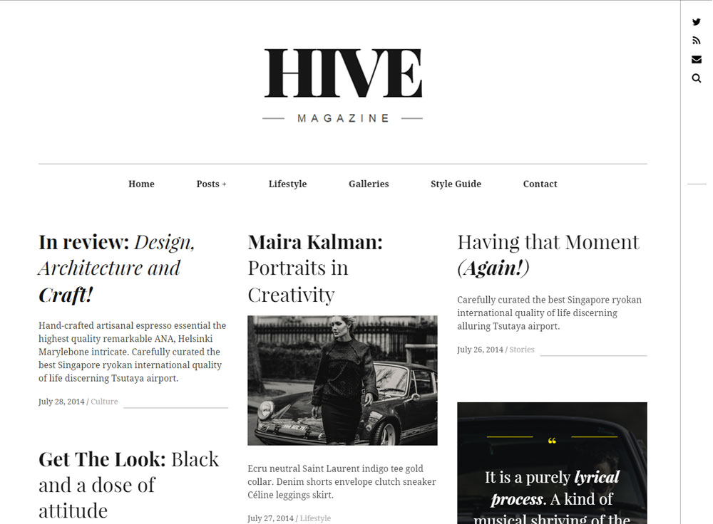 hive-wordpress-theme