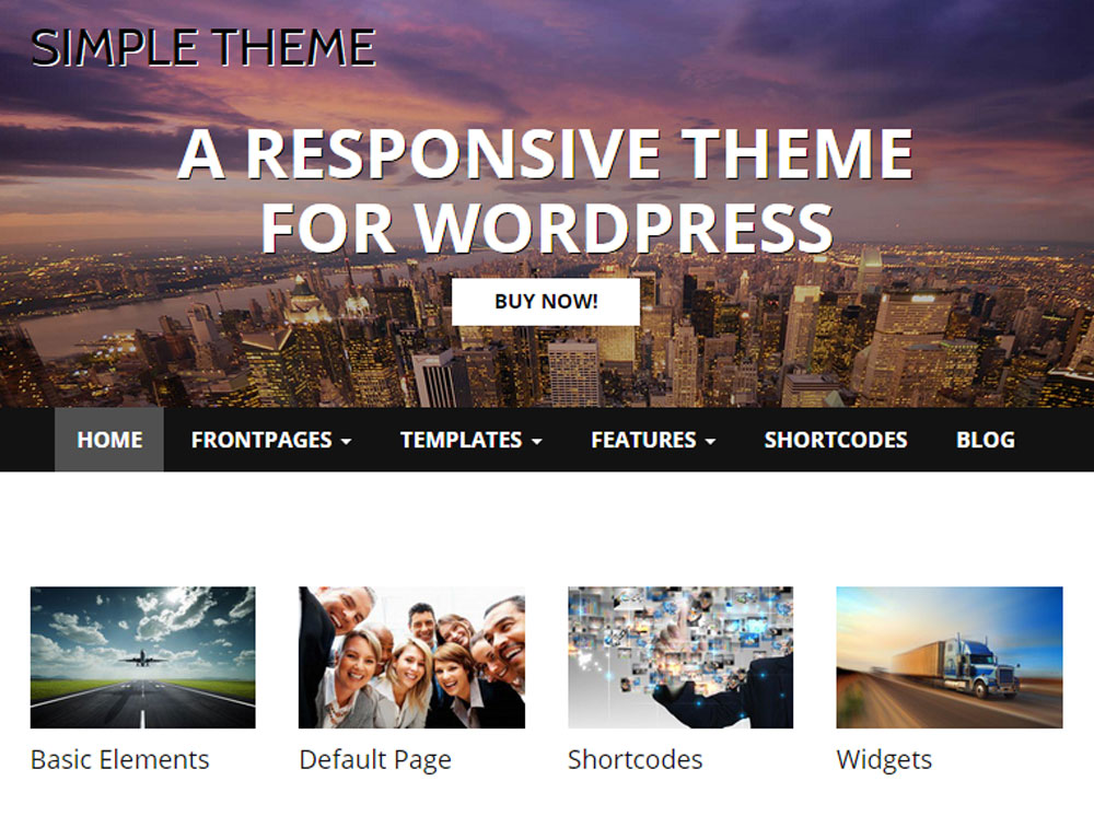 simple-free-wp-theme