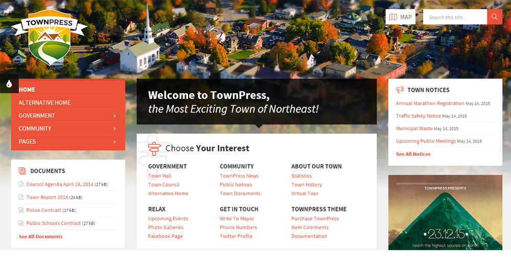 townpress-wp-theme