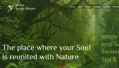 Jungle Resort WordPress Theme