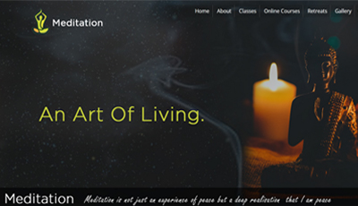 max Meditation WordPress Theme