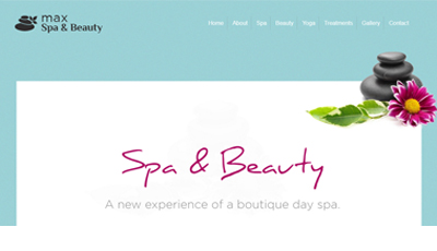 max Spa WordPress Theme